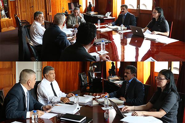 Comisión encargada de controlar, dirigir y vigilar las funciones de administración y finanzas, lleva a cabo sesión ordinaria