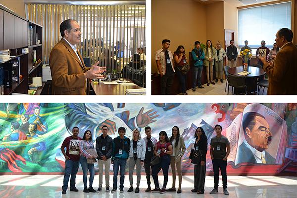 La honestidad es la piedra angular del trabajo pericial, expresó el juez Jesús Ochoa a estudiantes del Instituto Universitario Puebla