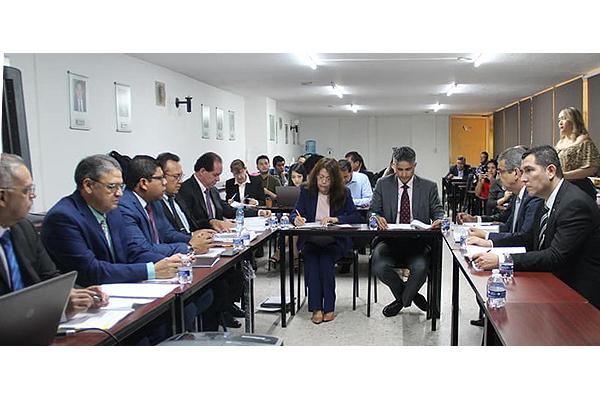 El magistrado Sergio Alberto Cázares Solórzano participó en sesión del Órgano de Gobierno del Sistema Estatal Anticorrupción