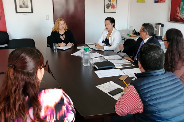 Realizan reunión de trabajo de la Subcomisión de Acceso a la Justicia para Víctimas