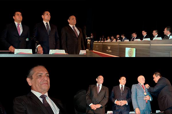 Magistrado presidente del PJM es invitado de honor en sesión solemne del Cabildo de Zitácuaro