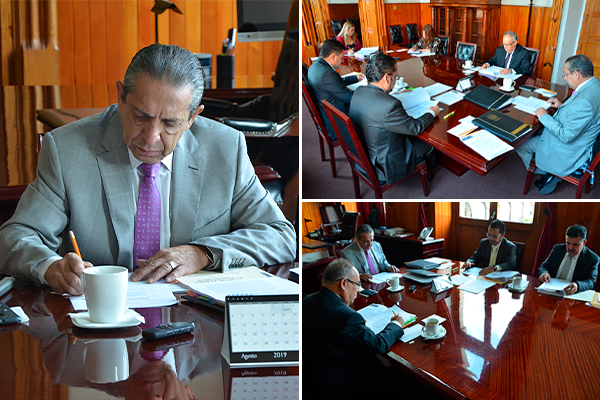 El Consejo del Poder Judicial de Michoacán se reúne en sesión ordinaria