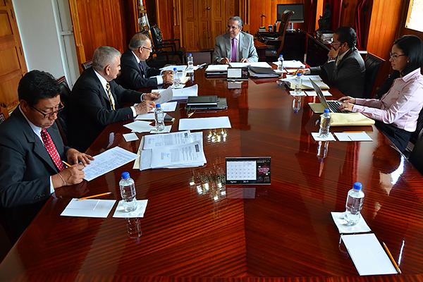 Se reúne la Comisión de Administración del Consejo del Poder Judicial de Michoacán