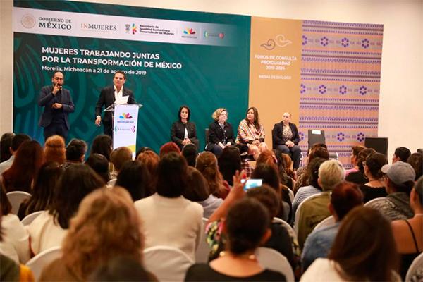Inauguran foro para fortalecer la igualdad entre mujeres y hombres