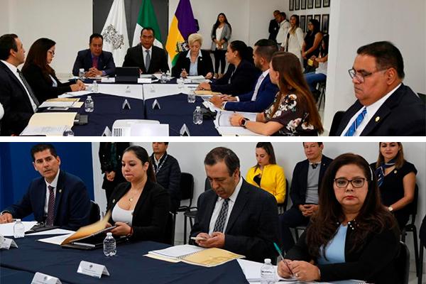 Magistrada Dora Elia Herrejón Saucedo atiende reunión del Consejo Consultivo de la FGE