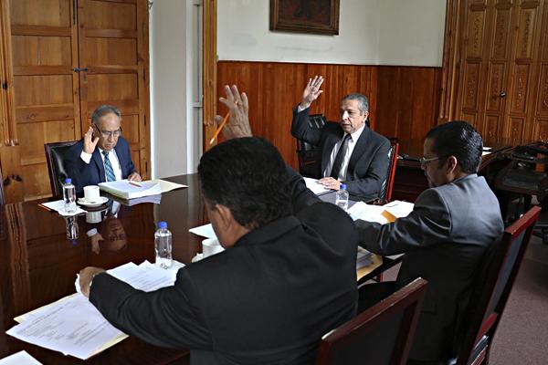 En Palacio de Justicia del Centro Histórico realizan sesión ordinaria del Consejo del PJM