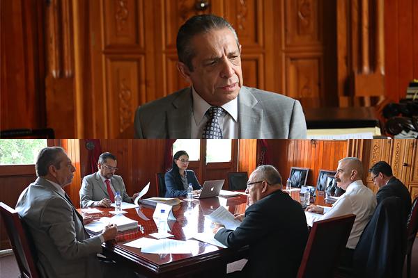 Héctor Octavio Morales Juárez preside sesión ordinaria de la Comisión de Administración