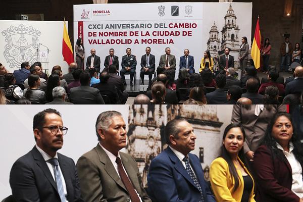 Hoy se conmemoran 191 años del cambio de nombre de la ciudad de Valladolid a Morelia