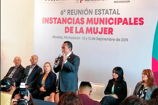 Poder Judicial de Michoacán presente en la Sexta Reunión Estatal de Instancias Municipales de la Mujer