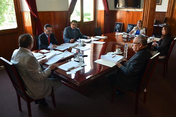 Consejo del Poder Judicial de Michoacán se reúne en sesión ordinaria