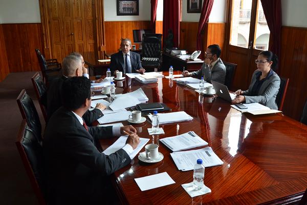 Se reúne Comisión de Administración en sesión ordinaria