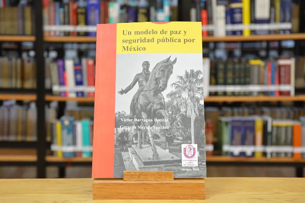 """Este lunes 11 a las 5:00 de la tarde se presenta el trabajo académico de investigación, coautoría del magistrado Víctor Barragán Benítez """"Un modelo de paz y seguridad pública por México"""""""