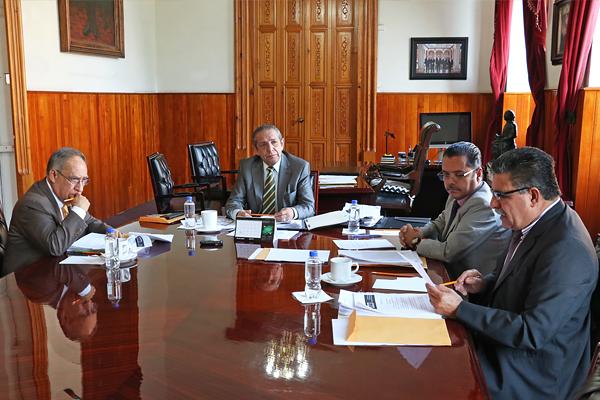 Consejo del Poder Judicial de Michoacán realiza sesión ordinaria en Palacio de Justicia del Centro Histórico