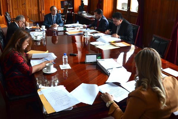 Se reúne en sesión ordinaria el Consejo del Poder Judicial de Michoacán