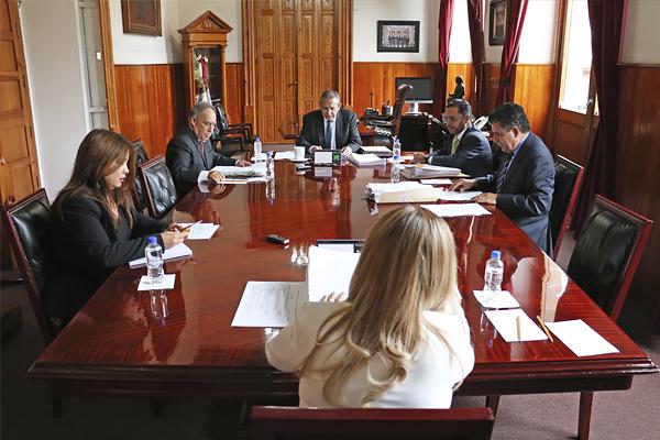 Máximo órgano administrativo del Poder Judicial de Michoacán llevó a cabo sesión ordinaria