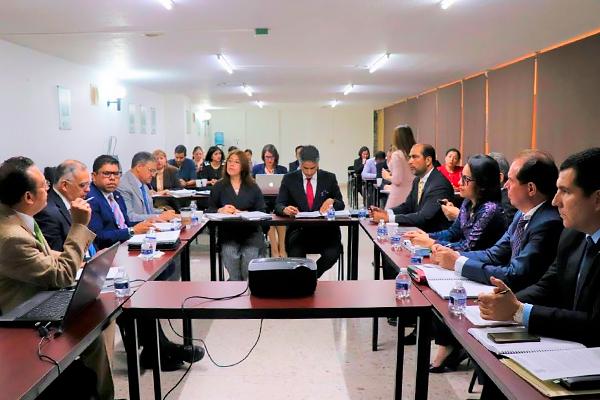 Poder Judicial presente en sesión ordinaria del Sistema Estatal Anticorrupción