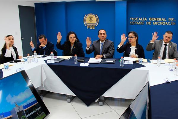 Consejo Consultivo de la FGE realiza reunión de trabajo, asiste magistrada Dora Elia Herrejón Saucedo
