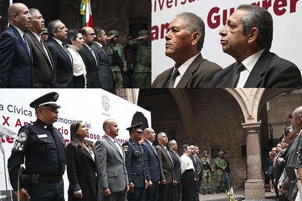 Conmemoran 189 aniversario luctuoso del General Vicente Guerrero