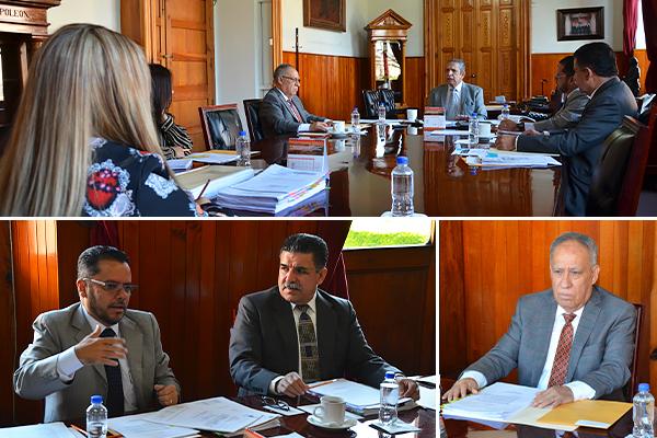 Consejo del Poder Judicial de Michoacán, encargado de supervisar los concursos de oposición