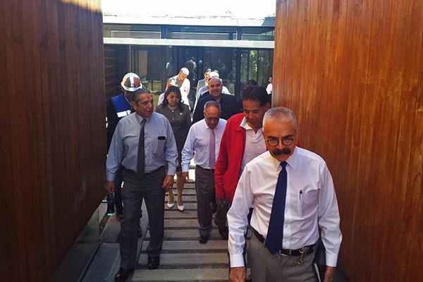 Pleno del Consejo del Poder Judicial de Michoacán realiza visita de seguimiento al espacio que albergará oficinas y salas del sistema de justicia penal oral en Morelia