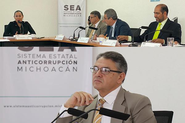 Magistrado Sergio Alberto Cázares Solórzano asiste a primera sesión ordinaria del Comité Coordinador del Sistema Estatal Anticorrupción