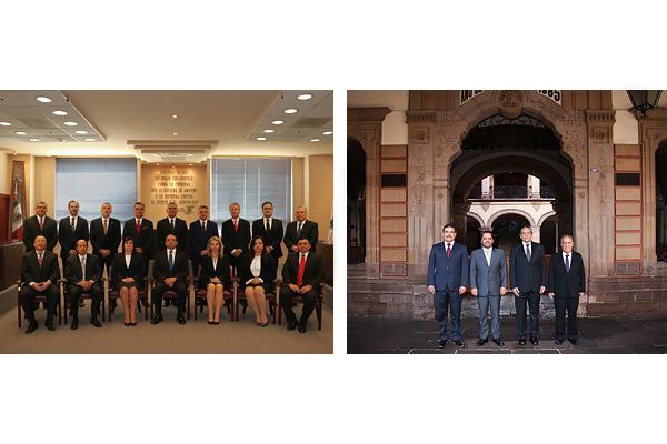 Plenos del Supremo Tribunal de Justicia y del Consejo del Poder Judicial de Michoacán en sesión permanente