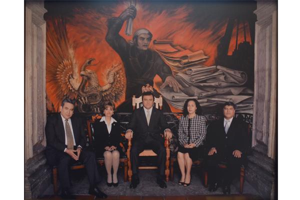 Consejo del Poder Judicial de Michoacán conmemora treceavo aniversario de su instalación