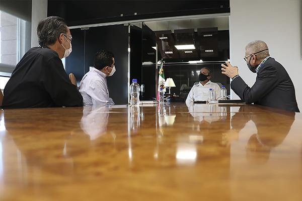 Magistrado presidente del PJM se reúne con titular de la SCOP para dar seguimiento a construcciones en proceso