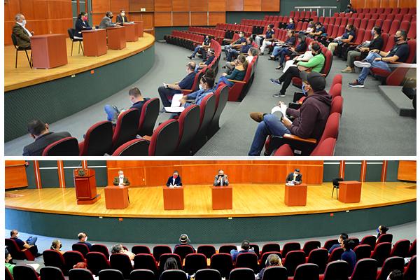Integrantes del Consejo del PJM y del Comité Ejecutivo del Sindicato sostienen reunión de trabajo