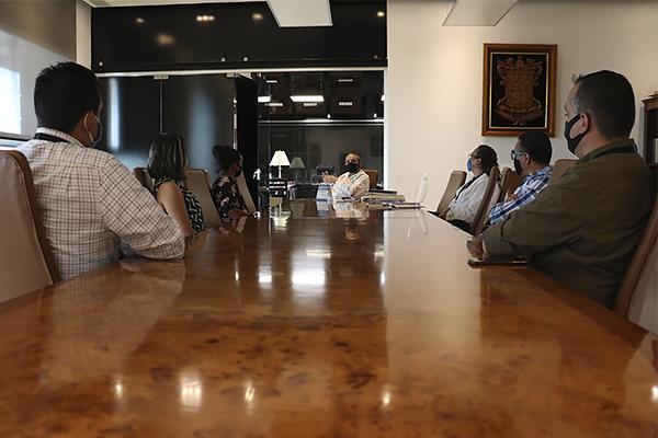 Héctor Octavio Morales Juárez lleva a cabo reunión con integrantes del Comité Ejecutivo del SUTASPJEM