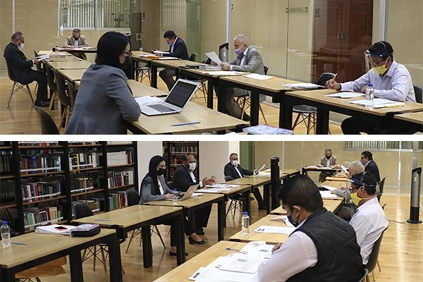En Palacio de Justicia José María Morelos se realizaron sesiones ordinarias de la Comisión de Administración y del Comité de Adquisiciones