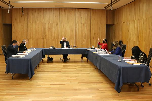En Palacio de Justicia del Centro Histórico se desarrolla sesión ordinaria de Consejo del Poder Judicial de Michoacán
