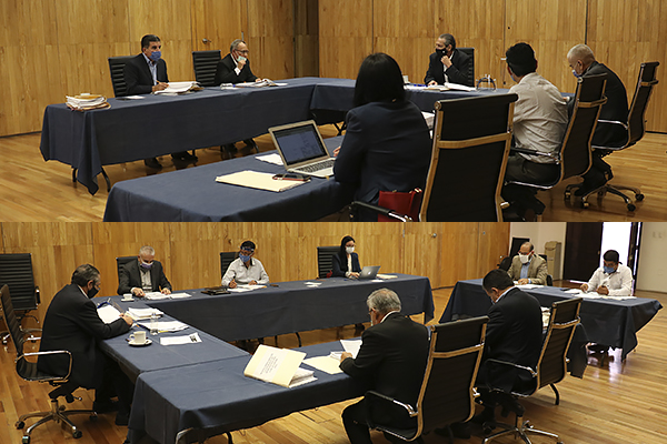 En sesiones ordinarias, Comisión de Administración y Comité de Adquisiciones desahogan asuntos de su competencia