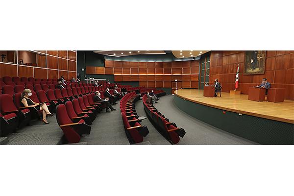 En sesión ordinaria, pleno del STJE aprueba dos proyectos