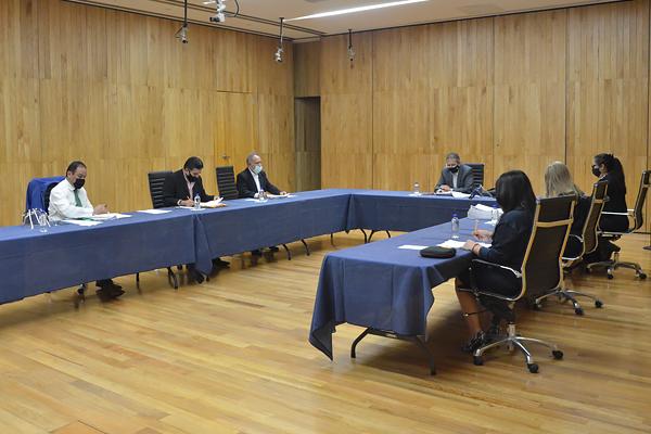 Pleno del Consejo lleva a cabo sesión ordinaria en el Palacio de Justicia del Centro Histórico