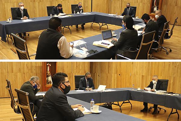 Integrantes del Comité de Adquisiciones, Arrendamientos, Obra Pública y Servicios llevaron a cabo sesión ordinaria