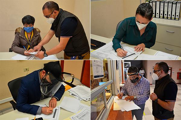 Coordinación de Seguridad Interna del Poder Judicial de Michoacán prepara capacitación de protección civil para brigadistas