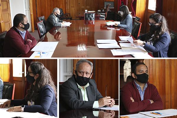 Comisión de Vigilancia y Disciplina, encargada de llevar el control de las evaluaciones de servidoras y servidores públicos, realiza sesión ordinaria