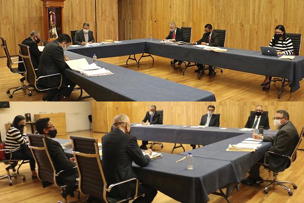 La Comisión de Administración se encarga, entre otras cosas, de aprobar instructivos, lineamientos y manuales de organización de las oficinas del PJM