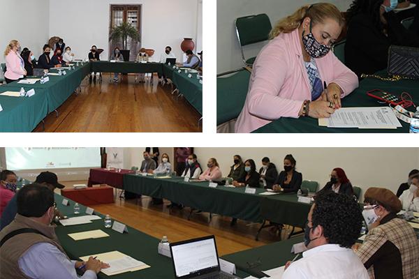 """Poder Judicial de Michoacán participa en la """"Tercera reunión de trabajo con los colectivos de víctimas de familiares de desaparecidos"""""""