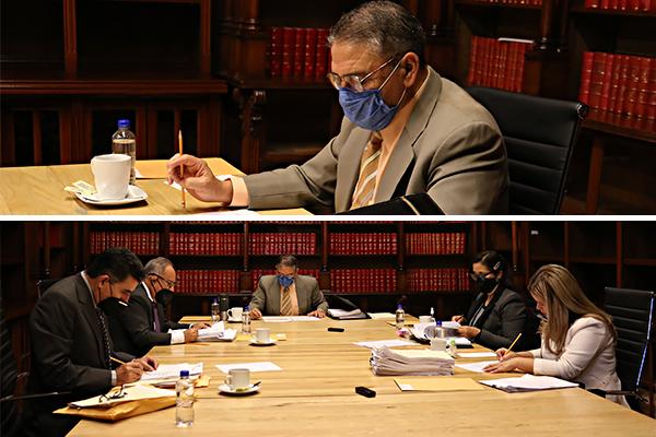 El máximo órgano administrativo de la institución es el encargado de determinar nombramientos, adscripciones y readscripciones de juezas y jueces menores