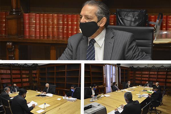 En sesiones ordinarias, Comité de Adquisiciones y Comisión de Administración resuelven temas relacionados a sus atribuciones