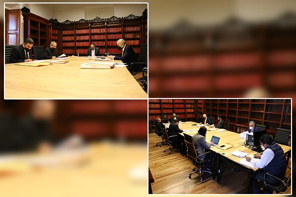 Quienes integran el Comité de Adquisiciones y la Comisión de Administración llevan a cabo sesiones ordinarias