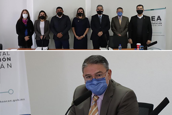 Magistrado Sergio Alberto Cázares Solórzano asiste a sesiones extraordinarias del SEA