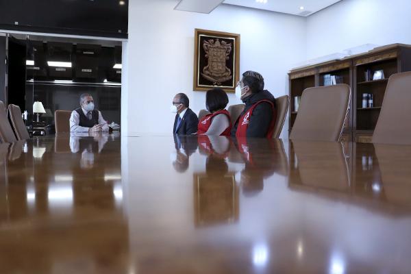 Poder Judicial de Michoacán se suma a la colecta estatal 2021 de la Cruz Roja