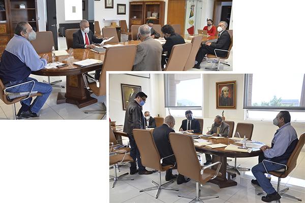Sesionan Comisión de Administración y Comité de Adquisiciones del Consejo del Poder Judicial