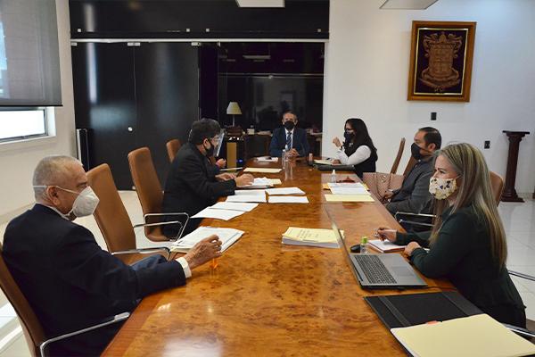 Máximo órgano administrativo del Poder Judicial lleva a cabo sesión extraordinaria de pleno