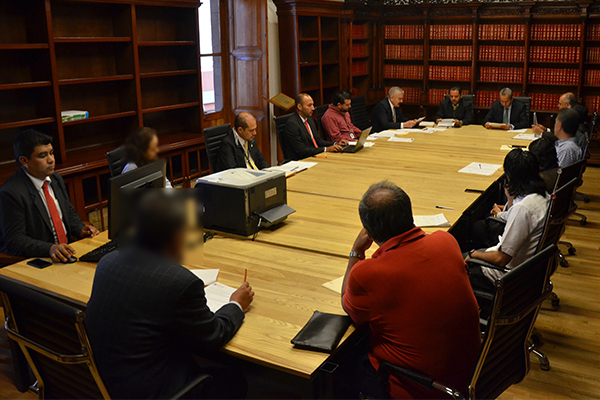 En la Junta de aclaraciones participaron diez personas físicas y morales