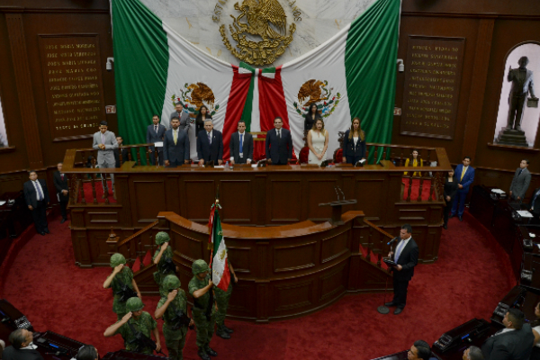 En la sesión se contó con la presencia de magistradas, magistrados y consejeros