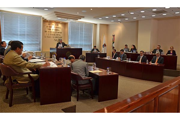 En esta sesión se aprobaron siete proyectos y se turnaron dos asuntos para resolución